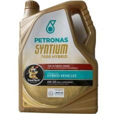 Petronas Syntium 7000 HYBRID 0W20 | 5 литр